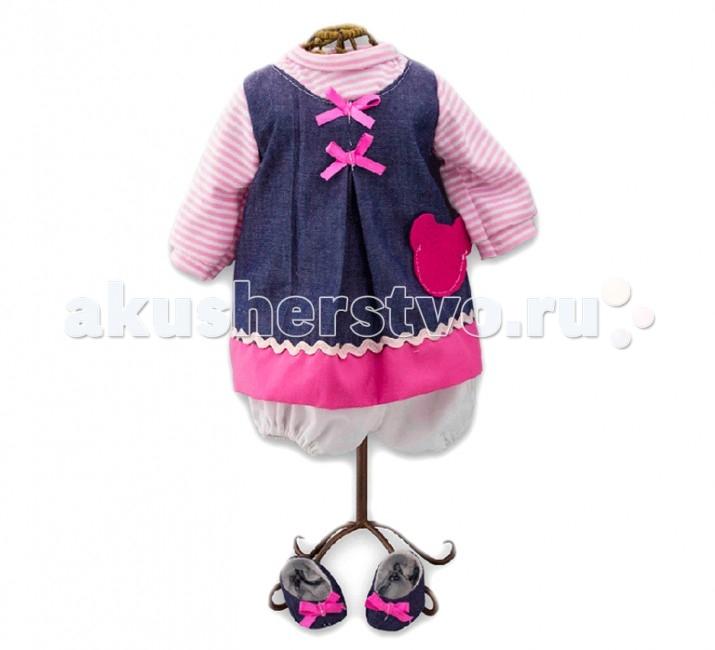 Loko Toys Одежда для куклы девочки Baby Pink 98241Одежда для куклы девочки Baby Pink 98241Все девочки очень любят переодевать своих кукол, создавая новые образы, а с таким набором одежды образы можно менять хоть каждый день.  Набор одежды станет прекрасным сюрпризом, который обрадует любую девочку и сделает ее куклу самой красивой! Одежда выполнена из высококачественного текстиля, гипоаллергенного и полностью безопасного для здоровья ребенка.  Комплектность: 1 комплект одежды для куклы  Изготовлено из: Текстиль<br>