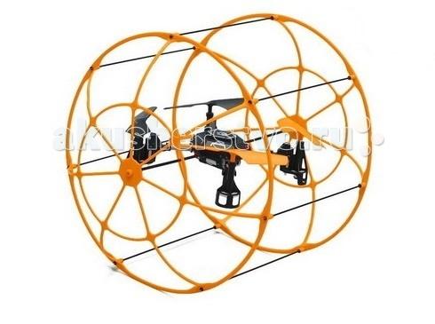 LeFutur Детский квадрокоптер UfoДетский квадрокоптер UfoLeFutur Детский квадрокоптер Ufo с защитой удивительная игрушка для любознательных детей.  Особенности: Модель с неповторимым дизайном взлетает с любой поверхности.  Предусмотрен пульт дистанционного управления, который позволяет управлять с расстояния до 30 метров.  Для стабилизации полета, особенно в ветреную погоду, предусмотрен шести осевой гироскоп.  Развивающая игрушка обладает защитной системой, которая защищает корпус квадрокоптера. Благодаря ей модель может кататься по стенам, и отскакивать от них при ударе.  Для подзарядки аккумулятора необходим час времени. Этого хватает на 5 минут работы. Защитная система в виде шара. Взлет с любой поверхности. Стабилизация полета за счет шести осевого гироскопа. Пульт дистанционного управления с радиусом управления до 30 метров.  Размеры: 21.5х21.5х24<br>