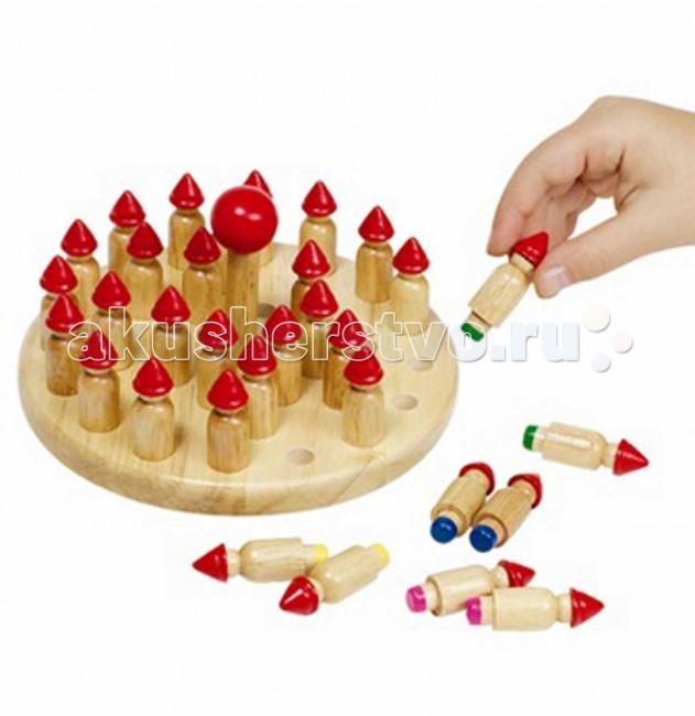 Деревянная игрушка Goki Игра на запоминание Гномы