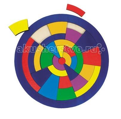 Деревянная игрушка Goki Пазл Круг 29 деталей