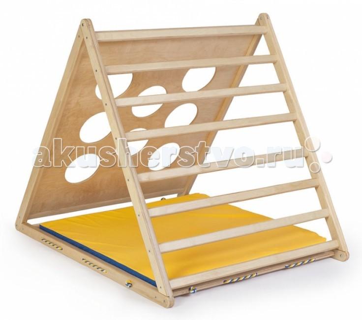 Kidwood Деревянный игровой комплекс Треугольник