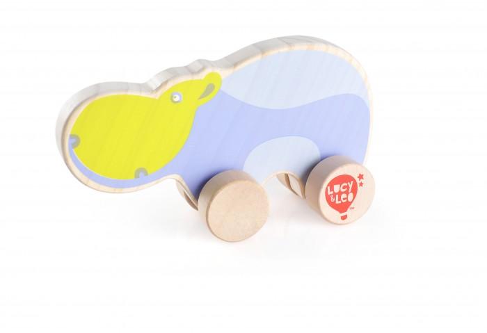 Каталка-игрушка Lucy & Leo Каталка Бегемот LL122