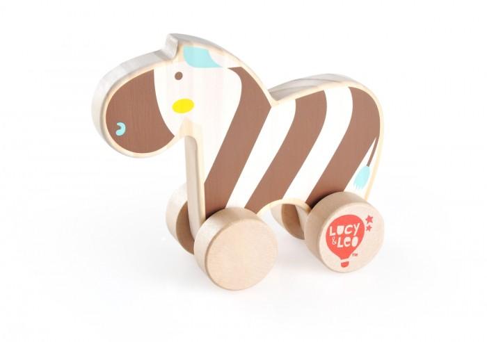 Каталка-игрушка Lucy & Leo Каталка Зебра LL118