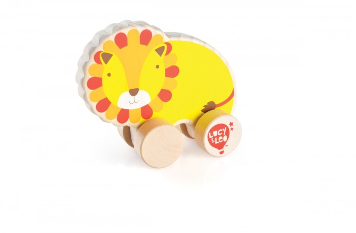 Каталка-игрушка Lucy &amp; Leo Каталка Лев LL119Каталка Лев LL119Lucy & Leo Деревянная игрушка Каталка Лев.  Удивительно, как рано в жизнь ребенка приходят игры, казалось бы, совсем недавно он только начал держать головку и переворачиваться. Вы не успели глазом моргнуть, как на смену игрушкам-погремушкам приходят более сложные забавы. Игрушка-каталка Лев - станет одной из первых игрушек для вашего ребенка, он с удовольствием станет катать забавную черепашку везде, где только смогут достать его маленькие ручки. Каталка Лев - это чудесное животное на колесиках.  Особенности: игрушка полностью изготовлена из дерева игрушка тщательно обработана, очень гладкая и приятная на ощупь размеры позволяют легко управляться с ней даже самым маленьким раскрашена в спокойные, но в то же время яркие и приятные цвета игрушка имеет легкий ход, легко катается на любой поверхности. Материалы: Игрушка изготовлена из дерева, используется исключительно экологически чистая Новозеландская сосна. Краска, которой покрываются игрушки, на водной основе. Также в производстве используется гипоаллергенный мягкий полимер.<br>