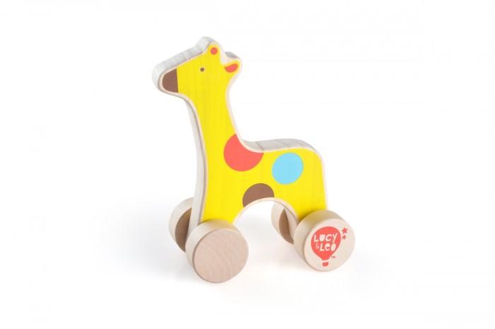Каталка-игрушка Lucy & Leo Каталка Жираф LL120