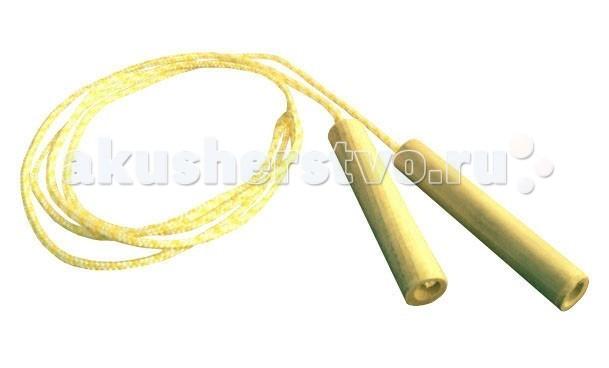 Kidwood Скакалка с деревянными ручкамиСкакалка с деревянными ручкамиKidwood Скакалка с деревянными ручками. Новая скакалка в эко-стиле!  Деревянная ручка, природные цвета в оформлении – всё это создает только приятные впечатления.  Игры со скакалкой – традиционное развлечение для детей. Скакалка – это отличный тренажер: развивает координацию, ловкость и выносливость.<br>