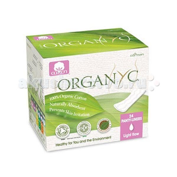 Organyc Прокладки на каждый день в индивидуальной упаковке 24 шт.
