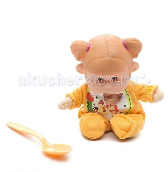 Yogurtinis Пупс с мягконабивным телом DПупс с мягконабивным телом DКукла Yogurtinis Пупс с мягконабивным телом D - представляет линейку фруктовых куколок, стилизованных в йогуртовой тематике.   Эти игрушки, действительно, невероятно сладкие - у них симпатичный дизайн и они упакованы в похожую на детское питание баночку. Тело игрушки - мягконабивное, сделано из текстиля и мягкого наполнителя, а голова у куколки - из прорезиненного пластика.  Натурализированные 3D глаза.   В комплекте ложка, из которой можно кормить ребенка.<br>