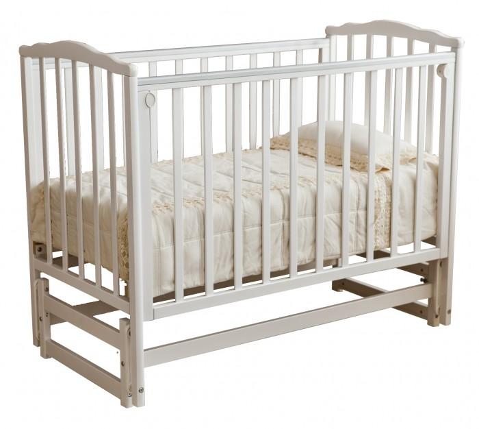 Детская кроватка Можга (Красная Звезда) Кристина С-619 (маятник продольный)