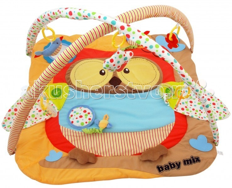 Развивающий коврик Baby Mix Сова