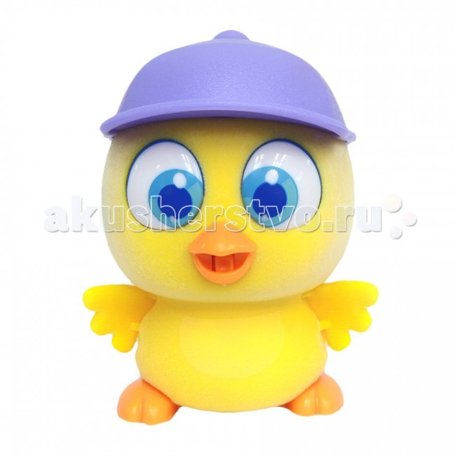Интерактивная игрушка Brix`n Clix Пи-ко-ко Цыпленок в кепке