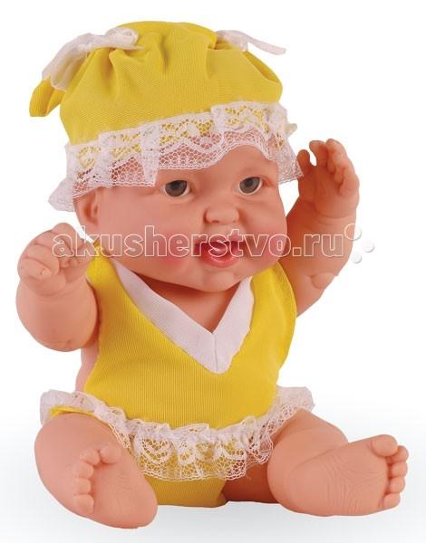 Огонек Пупс Валюша 2 25 смПупс Валюша 2 25 смКукла Огонек Пупс Валюша 2 очень похожа на маленького ребенка, она очень приятная на ощупь и так и просится на ручки.   Особенности: Кукла изготовлена из высококачественного винила Волосы нарисованы на виниле У куклы серые глазки без ресничек (не закрываются) Приоткрытый ротик Пухлые щечки Реалистичные складочки на коже У пупса подвижные ручки, ножки и голова Ее можно одевать и раздевать Малышку можно купать В приоткрытый ротик можно вставлять небольшую соску-пустышку Кукла отлично помещается в детскую колясочку  Рост куклы: 25 см<br>