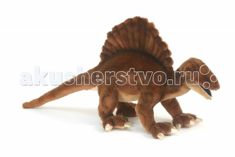 Мягкая игрушка Hansa Спинозавр 57 смСпинозавр 57 смМягкая игрушка Hansa Спинозавр 57 см является результатом ручной работы филиппинских дизайнеров. Она имеет детальную проработку, благодаря чему игрушка в точности повторяет внешний вид настоящего животного.   У игрушки применен гибкий каркас, он дает возможность придавать ей необходимое положение - поворачивать голову, сгибать лапы.   Играя с такой натуралистичной игрушкой, у ребенка будет формироваться правильное представление об окружающей природе. Даже когда ребенок вырастет, игрушка может оставаться частью интерьера, украшением помещения.  Забавная мягкая игрушка пошита и набита вручную. Она выполнена из искусственного меха, прошедшего специальную обработку для придания игрушке более реалистичного вида.<br>