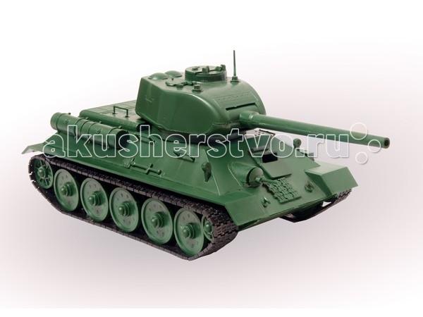 Конструктор Огонек Сборная модель Танк Т-34 1:30Сборная модель Танк Т-34 1:30Конструктор Огонек Танк Т-34 - сборная модель-копия.  Танк Т-34 является самым известным советским танком и одним из самых узнаваемых символов Второй мировой войны. Он был принят на вооружение 19 декабря 1939 года. Это единственный в мире танк, сохранивший боевую способность и находившийся в серийном производстве вплоть до конца Великой Отечественной войны. Танк Т-34 являлся лучшей машиной мирового танкового парка. Он сыграл решающую роль в сражениях под Москвой, Сталинградом, на Курской дуге, под Берлином.   Особенности: Масштаб 1:30.  В набор входят: детали танка, клей, инструкция.  Игрушка для детей, имеющих опыт моделирования.<br>