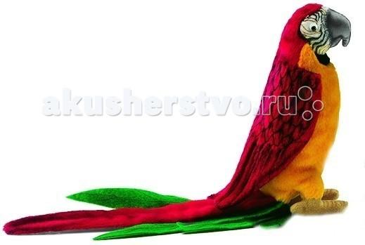 Мягкая игрушка Hansa Попугай красный 37 смПопугай красный 37 смМягкая игрушка Hansa Попугай красный 37 см является результатом ручной работы филиппинских дизайнеров. Она имеет детальную проработку, благодаря чему игрушка в точности повторяет внешний вид настоящего животного.   У игрушки применен гибкий каркас, он дает возможность придавать ей необходимое положение - поворачивать голову, сгибать лапы.   Играя с такой натуралистичной игрушкой, у ребенка будет формироваться правильное представление об окружающей природе. Даже когда ребенок вырастет, игрушка может оставаться частью интерьера, украшением помещения.  Забавная мягкая игрушка пошита и набита вручную. Она выполнена из искусственного меха, прошедшего специальную обработку для придания игрушке более реалистичного вида.<br>