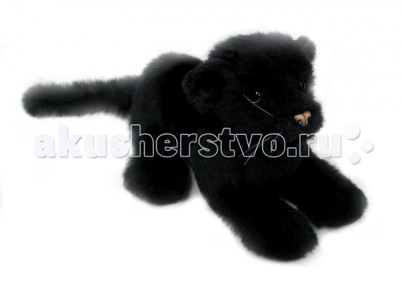 Мягкая игрушка Hansa Детеныш черной пантеры 26 смДетеныш черной пантеры 26 смМягкая игрушка Hansa Детеныш черной пантеры 26 см является результатом ручной работы филиппинских дизайнеров. Она имеет детальную проработку, благодаря чему игрушка в точности повторяет внешний вид настоящего животного.   У игрушки применен гибкий каркас, он дает возможность придавать ей необходимое положение - поворачивать голову, сгибать лапы.   Играя с такой натуралистичной игрушкой, у ребенка будет формироваться правильное представление об окружающей природе. Даже когда ребенок вырастет, игрушка может оставаться частью интерьера, украшением помещения.  Забавная мягкая игрушка пошита и набита вручную. Она выполнена из искусственного меха, прошедшего специальную обработку для придания игрушке более реалистичного вида.<br>