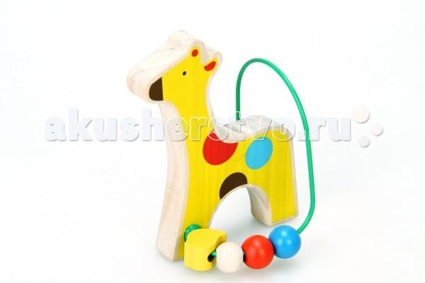 Деревянная игрушка Lucy &amp; Leo Лабиринт Жираф LL128Лабиринт Жираф LL128Lucy & Leo Деревянная игрушка Лабиринт Жираф.  Зверята из жаркой Африки приготовили для вашего малыша необычный сюрприз – деревянный лабиринт из бус! С этой игрушкой ребенка ждет двойное развлечение - яркие и дружелюбные фигурки познакомят его с веселыми обитателями саванны, а игры с разноцветными бусинками разовьют координацию, восприятие цвета и пространственное мышление. Игрушки легко помещаются в детскую руку.  Полезно знать: Этот набор выполнен из качественных материалов по европейским стандартам и покрыт специальной краской на водной основе, которая абсолютно безопасна для вашего малыша. Производитель использует только экологически чистую новозеландскую сосну для производства своих игрушек.<br>