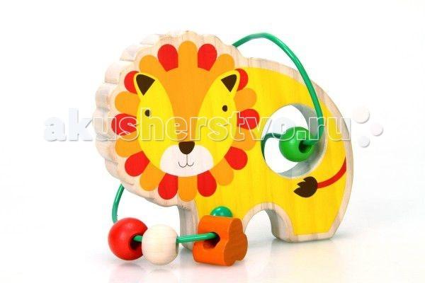 Деревянная игрушка Lucy &amp; Leo Лабиринт Лев LL130Лабиринт Лев LL130Lucy & Leo Деревянная игрушка Лабиринт Лев.  Зверята из жаркой Африки приготовили для вашего малыша необычный сюрприз – деревянный лабиринт из бус! С этой игрушкой ребенка ждет двойное развлечение - яркие и дружелюбные фигурки познакомят его с веселыми обитателями саванны, а игры с разноцветными бусинками разовьют координацию, восприятие цвета и пространственное мышление. Игрушки легко помещаются в детскую руку.  Полезно знать: Этот набор выполнен из качественных материалов по европейским стандартам и покрыт специальной краской на водной основе, которая абсолютно безопасна для вашего малыша. Производитель использует только экологически чистую новозеландскую сосну для производства своих игрушек.<br>