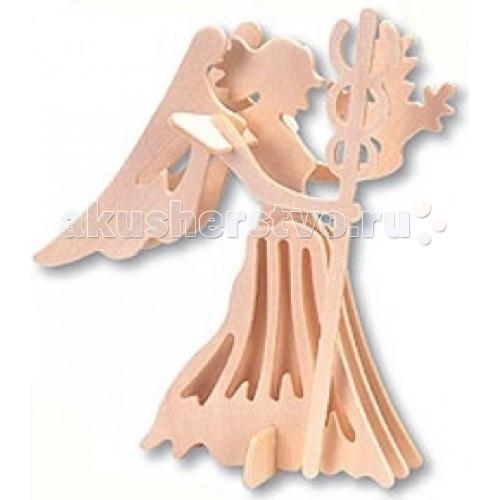 Конструктор МДИ Сборная модель ДеваСборная модель ДеваСборная модель МДИ Дева зодиак.  Сборная модель из серии Знаки Зодиака Деревянные игрушки направлены на развитие пространственного и логического мышления, развитие мелкой мышечной моторики, внимания, памяти, подготавливают руку к письму. Выполнен из экологически чистой древесины, не содержит формальдегид. Детали выдавливаются из фанерной доски и собираются согласно инструкции.   Лучше всего проклеивать места соединения клеем сразу при сборке, так собранная Вами модель будет долго служить Вам и радовать Вас. Вы можете раскрасить Вашу модель, используя любые краски. В этом случае нужно заранее продумать как общий дизайн модели, так и окраску каждой детали. Производитель рекомендует использовать темперные краски. После можно покрыть лаком.<br>