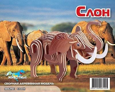 Конструктор МДИ Сборная модель Маленький слон цветнойСборная модель Маленький слон цветнойСборная модель МДИ Маленький слон цветной.  Сборная модель направлена на развитие пространственного и логического мышления, развитие мелкой мышечной моторики, внимания, памяти, подготавливают руку к письму. Выполнена из экологически чистой древесины, не содержит формальдегид. Детали выдавливаются из фанерной доски и собираются согласно инструкции.   Лучше всего проклеивать места соединения клеем сразу при сборке, так собранная Вами модель будет долго служить Вам и радовать Вас. Вы можете раскрасить Вашу модель, используя любые краски. В этом случае нужно заранее продумать как общий дизайн модели, так и окраску каждой детали. Производитель рекомендует использовать темперные краски. После можно покрыть лаком.<br>