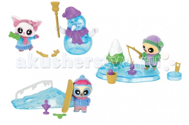 Simba YooHoo&amp;Friends ЗимаYooHoo&amp;Friends ЗимаВ солнечный зимний день гулять и играть в снегу - одно удовольствие!   Юху и его друзья живут в теплой стране, и оттого зима кажется им вдвойне прекрасней и удивительней.   Они лепят снеговика, катаются на сноуборде и удят рыбу в полынье. Осталось решить, какое из этих занятий интереснее, и присоединиться к ним.  Комплект: фигурка, аксессуары.  Размер фигурки: 5 см.<br>