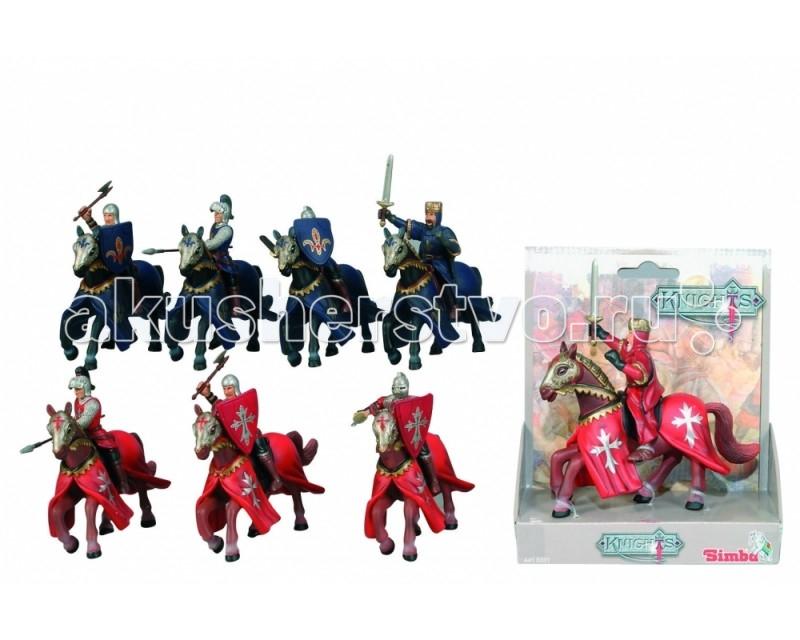 Simba Рыцарь на коне 14 смРыцарь на коне 14 смДоблестный рыцарь станет незаменимым и надежным защитником импровизированной крепости, который до последнего будет отбивать атаки врага.   Данная фигурка выполнена в виде воина на коне, в доспехах и с оружием.   Стоит отметить, что выполнены элементы внешнего вида с большим вниманием к деталям.   Игрушка отличается также яркой и насыщенной расцветкой.   Играя с рыцарем, ребенок сможет развить воображение, заинтересуется историей.<br>