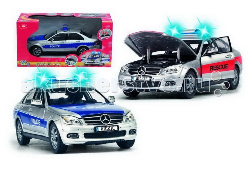 Dickie Mercedes S.O.S. 1:18