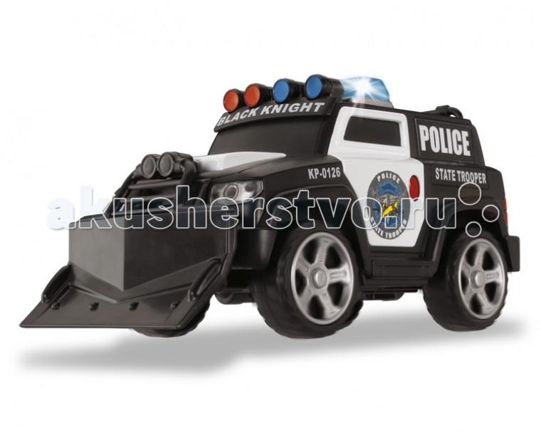 Dickie Полицейский броневик 15 смПолицейский броневик 15 смПолицейский броневик со световыми и звуковыми эффектами понравится любому мальчишке.   Машина имеет свободный ход движения, сделана из высококачественной пластмассы.   Если нажать на красную кнопку, находящуюся на боковой двери автомобиля, то можно включить подсветку и активировать звуки сирены.   В дополнении у машины выезжает лебедка.   Тип батареек: 3 х АА / LR6 1.5 V (пальчиковые).  Размер игрушки: 15 см.<br>