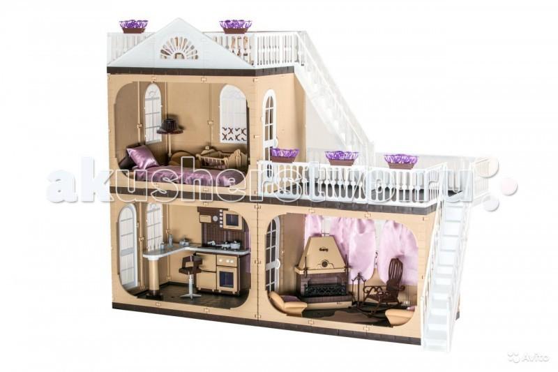 Огонек Коттедж для кукол Barbie (Барби) Коллекция С-1292 с мебельюКоттедж для кукол Barbie (Барби) Коллекция С-1292 с мебельюОгонек Коттедж для кукол Barbie (Барби) Коллекция С-1292 с мебелью. Домик выполнен в нестандартных бежево-коричневых тонах, придающих элегантность, неповторимый стиль и статус (в отличие от большинства игрушек для девочек стереотипных гламурно-розовых цветов). Стены бежевые, перекрытия темно-коричневые, элементы террасы белые. Все цвета сбалансированы и отлично подходят друг к другу.   В комплекте: коттедж Коллекция кухня Коллекция гостиная Коллекция каминная Коллекция  спальня Коллекция люлька Коллекция уличные качели Коллекция инструкция.  Предназначен для кукол ростом до 30 см<br>