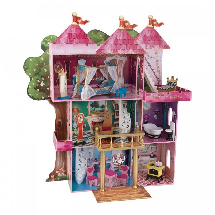 KidKraft Замок-дом для кукол Winx и Ever After High Книга Сказок с мебелью