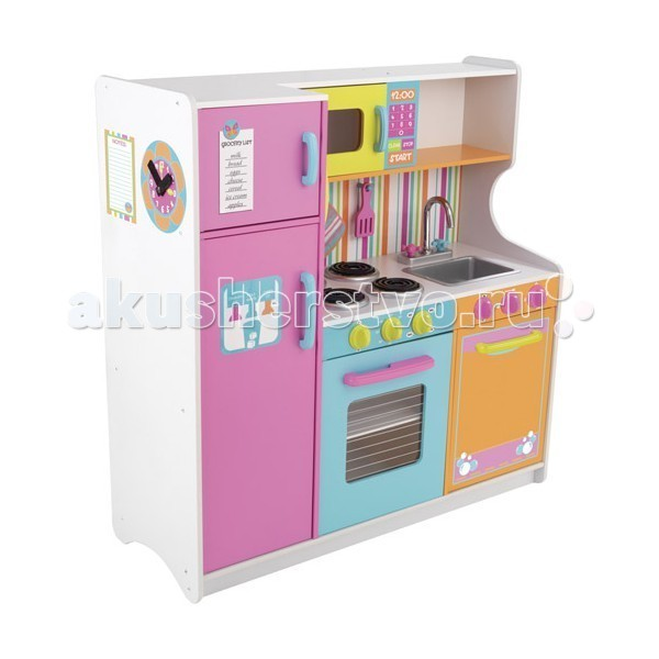 KidKraft ������� ������� ������� ����� ������ (Deluxe Big & Bright Kitchen)
