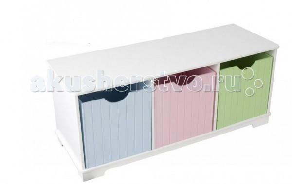 KidKraft ������ � �������� ��� �������� Storage Bench Pastel