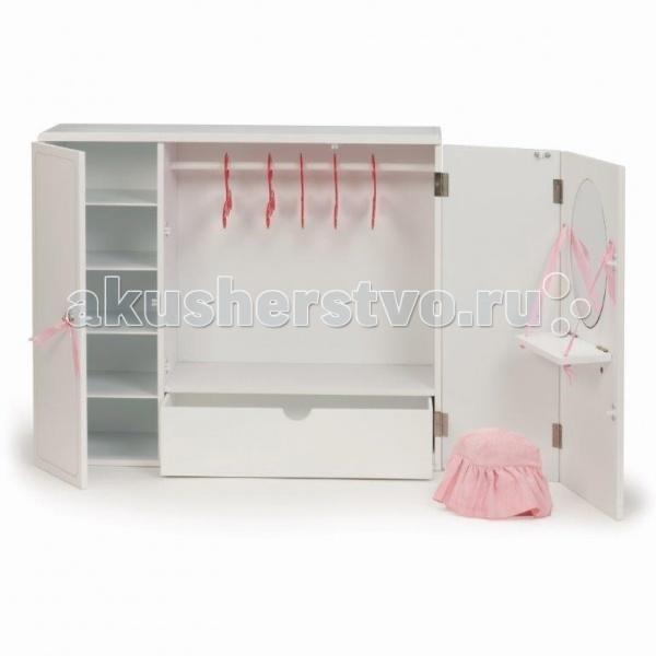 Our Generation Dolls Деревянный гардероб для куклы 46 см
