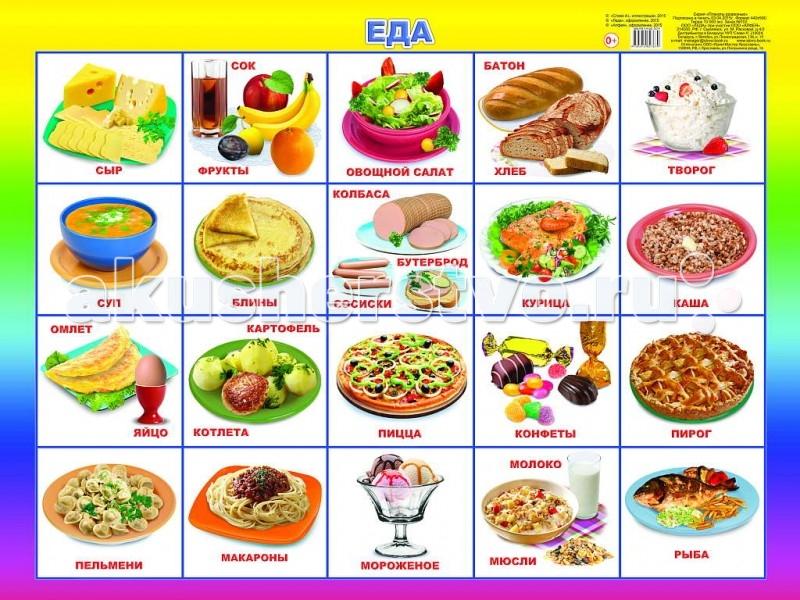 Алфея Плакат Еда