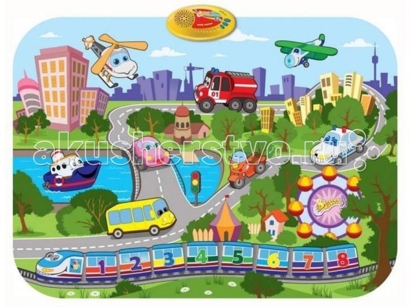 Игровой коврик 1 Toy Музыкальный Мой город