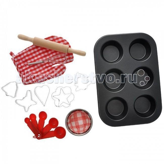 1 Toy Я сама Набор посуды для выпечки 17 предметов