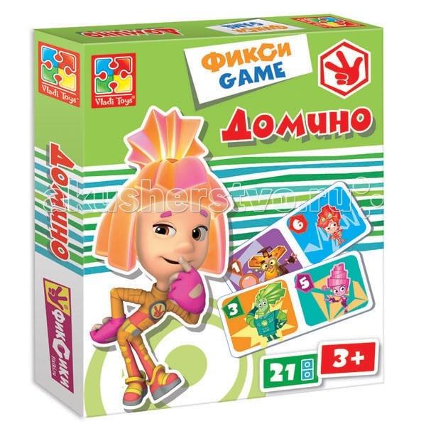 Vladi toys Игра настольная Домино Фиксики