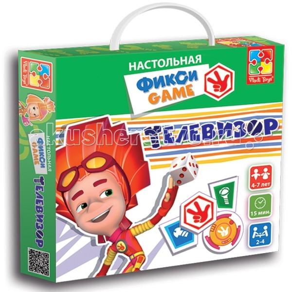 Vladi toys Игра настольная Фикси Телевизор