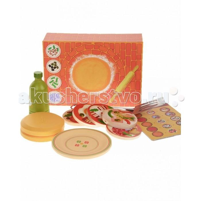Деревянная игрушка Djeco Сюжетно-ролевая игра ПиццаСюжетно-ролевая игра ПиццаДеревянная игрушка Djeco Сюжетно-ролевая игра Пицца - станет новой увлекательной игрой для ребенка. В этом наборе ваш ребенок найдет все самое необходимое для того, чтобы приготовить и накормить свои любимые игрушки вкусной пиццей.   В наборе:  печь основание для пиццы масло меню шпатель составные части для пиццы.<br>