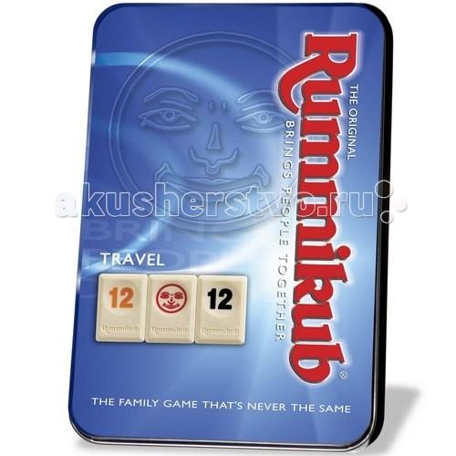 Kodkod Rummikub в металлической коробкеRummikub в металлической коробкеKodkod Rummikub в металлической коробке новая версия игры станет прекрасным подарком для ценителей логических настольных игр.  Правила игры остались прежними: игроки по очереди пытаются выстраивать на игровом поле ряды и группы из фишек по определенным правилам. Каждый ряд или группа должна состоять минимум из трех фишек. В ряду фишки составляют последовательность чисел одного цвета. Группу образуют одинаковые числа разного цвета.   В свой ход можно выполнять одно из двух действий: собирать в руке ряды или группы и выкладывать их на поле добавлять одну или несколько фишек с руки на поле для образования новой группы или ряда. Тот, кто первым избавится от всех своих фишек, тот и побеждает.  Количество игроков: 2 - 4 человека.  Среднее время 1 игры - 20 минут.<br>