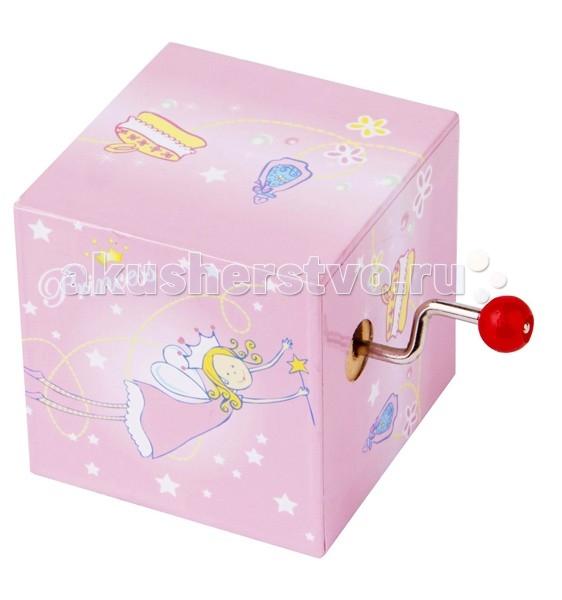Trousselier Музыкальная мини-шарманка PrincessМузыкальная мини-шарманка PrincessСтильная музыкальная шарманка может быть подарком или просто знаком внимания.  Приятный звук шарманки нравится детям. А дизайн и рисунки отлично впишется в детскую комнату.  Музыкальный механизм заводится с помощью маленького рычажка. (HAPPY BIRTHDAY) Сочетается со светильником Trousselier.  Размер: 5 х 5 х 8 см  Поставляется в подарочной коробке Trousselier.  Французский бренд Trousselier вот уже более 40 лет создает уникальные коллекции детских игрушек, товаров для дома и интерьера. Вся продукция изготовлена из натуральных материалов с соблюдением высоких европейских стандартов качества.<br>