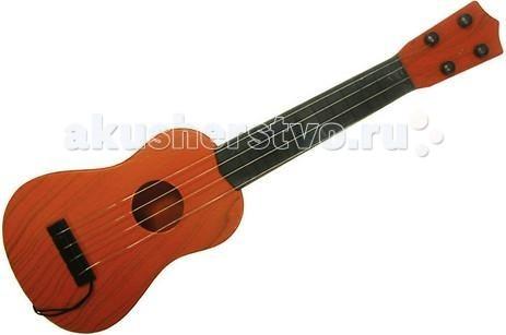 Музыкальная игрушка Тилибом Гитара 41 смГитара 41 смМузыкальная игрушка Тилибом Гитара 41 см - увлекательная игрушка с различными звуковыми эффектами.   Гитара с мягкими безопасными струнами оформлена под дерево и выглядит, как настоящая. Упакована в удобный чехол с ремнём, в котором гитару удобно носить с собой.  Модель выполнена из качественных материалов. Игрушка поможет развить у ребенка слуховое восприятие, моторику рук и память.<br>
