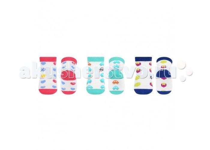 BabyOno Носочки махровые 6+ (1 пара)Носочки махровые 6+ (1 пара)Носочки махровые для детей от 6 мес  защищают от скольжения помогают в первых шагах ребёнка изготовлены из махровой хлопковой ткани высокого качества большой выбор расцветок и рисунков<br>