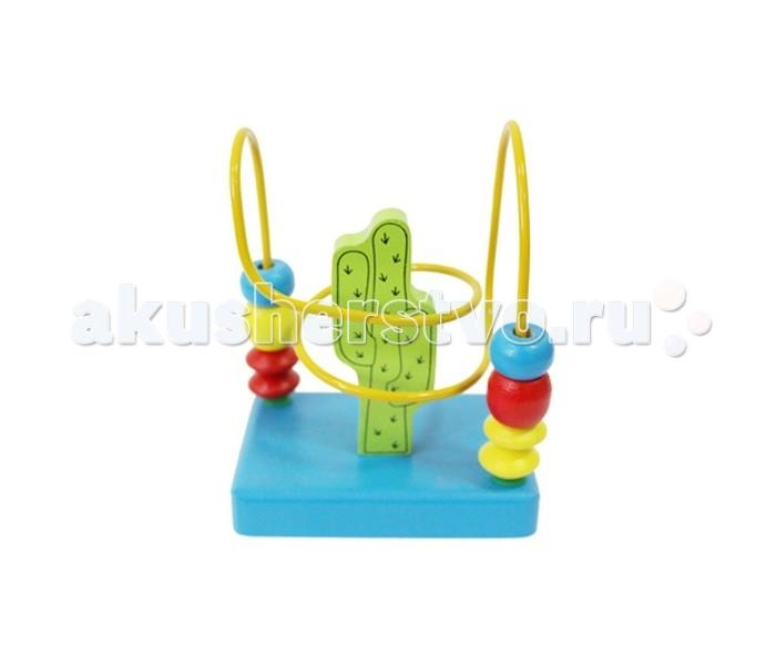 Деревянная игрушка Alatoys Лабиринт Кактус