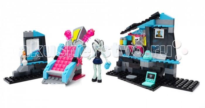 Конструктор Mega Bloks Mattel Monster High Комната Фрэнки Штейн (147 деталей)