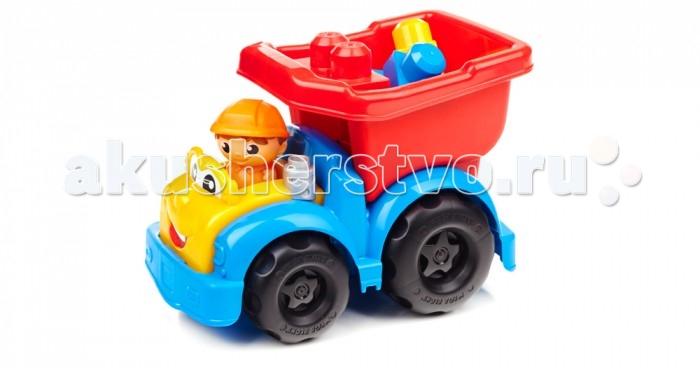 Mega Bloks Mattel First Builders Самосвал Дилан