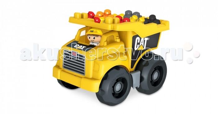 Mega Bloks Mattel Cat Большой самосвал