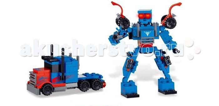 Конструктор Zhorya Робот-машина (110 деталей)Робот-машина (110 деталей)Конструктор Zhorya Робот-машина (110 деталей). Хотите порадовать малыша занимательной и оригинальной игрушкой? А кроме того нужно, чтобы она была яркая, увлекательная, а самое главное – безопасная и сделанная из высококачественных материалов? В таком случае трансформер машина-робот, то что Вам нужно.  Ребенок надолго запомнит такой подарок, и с удовольствием будет проводить время с новой игрушкой.<br>
