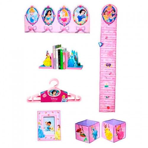 Аксессуары для детской комнаты Disney Набор декора Принцесса 10 предметов