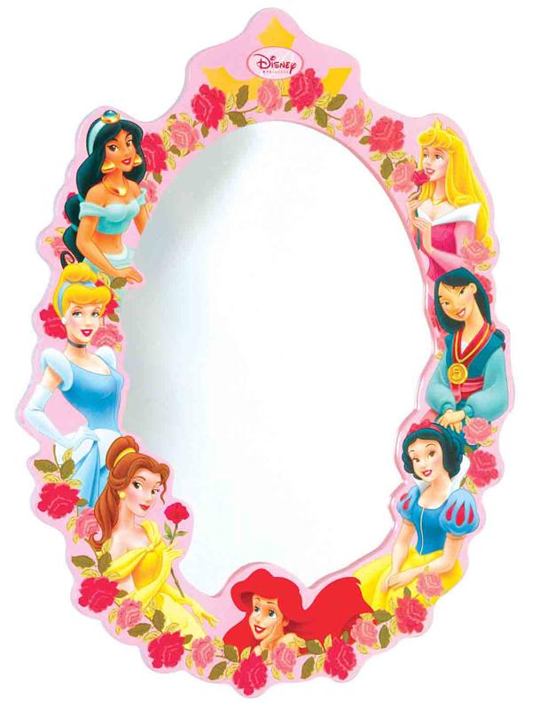 Аксессуары для детской комнаты Disney Зеркало настенное Принцессы